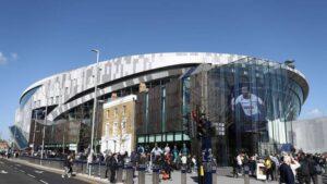Tottenham Stadium article on Ultra United