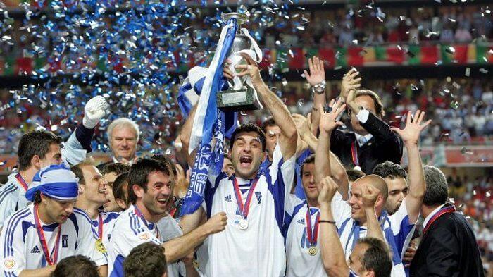 Greece at Euro 2004