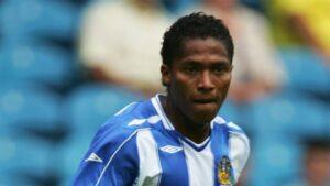 Antonio Valencia at Wigan