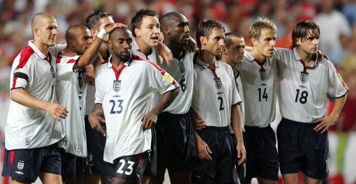 England at Euro 2004
