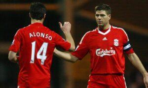 Liverpool midfield trio