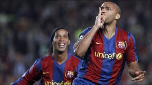 Thierry Henry at Barcelona