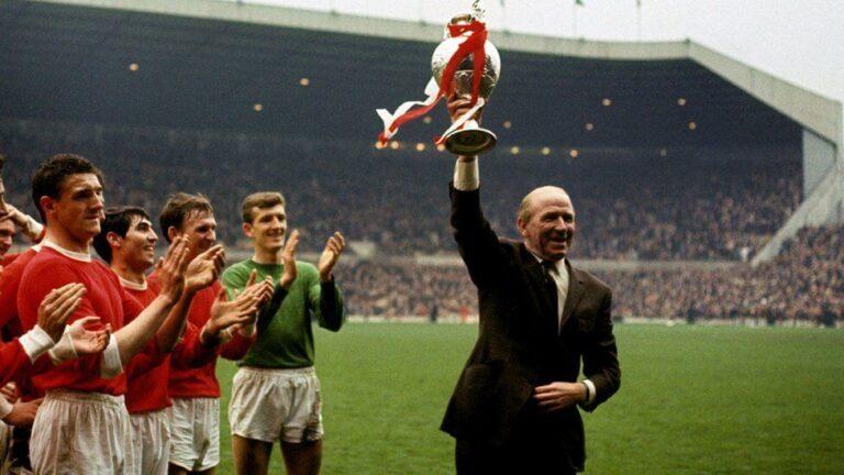 Sir Matt Busby at Manchester United