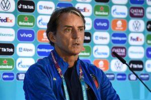 Roberto Mancini for Italy at Euro 2020