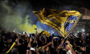 La Bombonera Fans at Boca Juniors