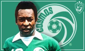 Pele at the New York Cosmos