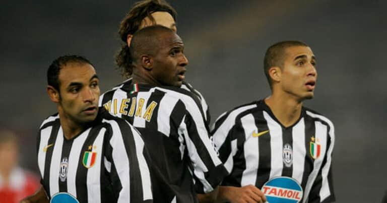 Patrick Vieira at Juventus