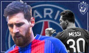 Lionel Messi Barcelona to PSG - Ultra UTD