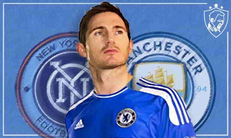 Frank Lampard New York City to Manchester City - Ultra UTD