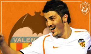 David Villa Valencia Graphic - Ultra UTD